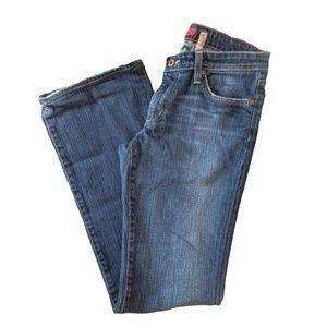 Big Star Jeans • Women's Boot Cut Jeans Dark Wash